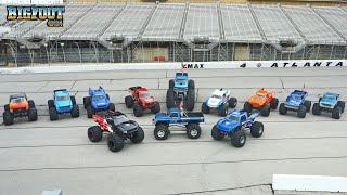 12 BIGFOOT Trucks at the Summit Racing Motorama