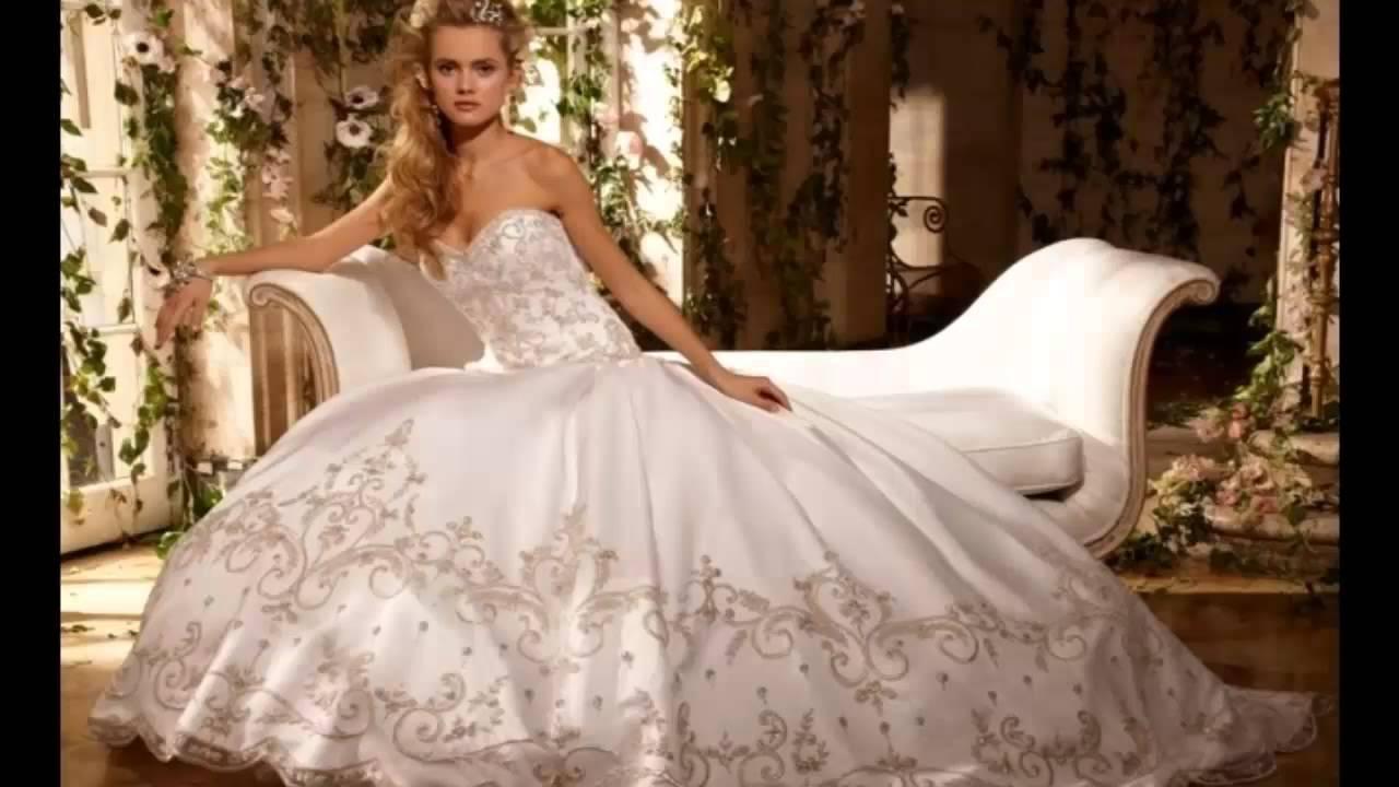 vestidos de novia san miguel - YouTube