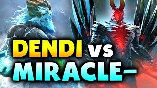 MIRACLE- vs DENDI - Terrorblade vs Zeus - EU DIVINE MMR DOTA 2