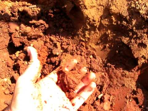 Alabama red clay soil youtube for Where do we find soil