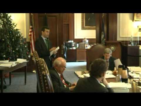 Gov. & Executive Council Meet. Part 2 - 12-14-11 - 37 Mins.VTS 01 2
