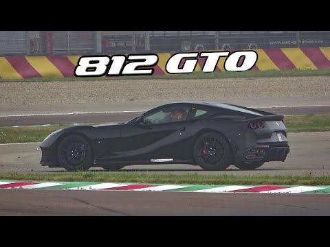 FERRARI 812 GTO / VS PROTOTYPE V12 SOUND AND ROADHOLDING TEST