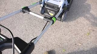 ego 56 volt mower new addition to the bbsi battery electric test fleet
