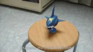Pokémon 319 Sharpedo papercraft model