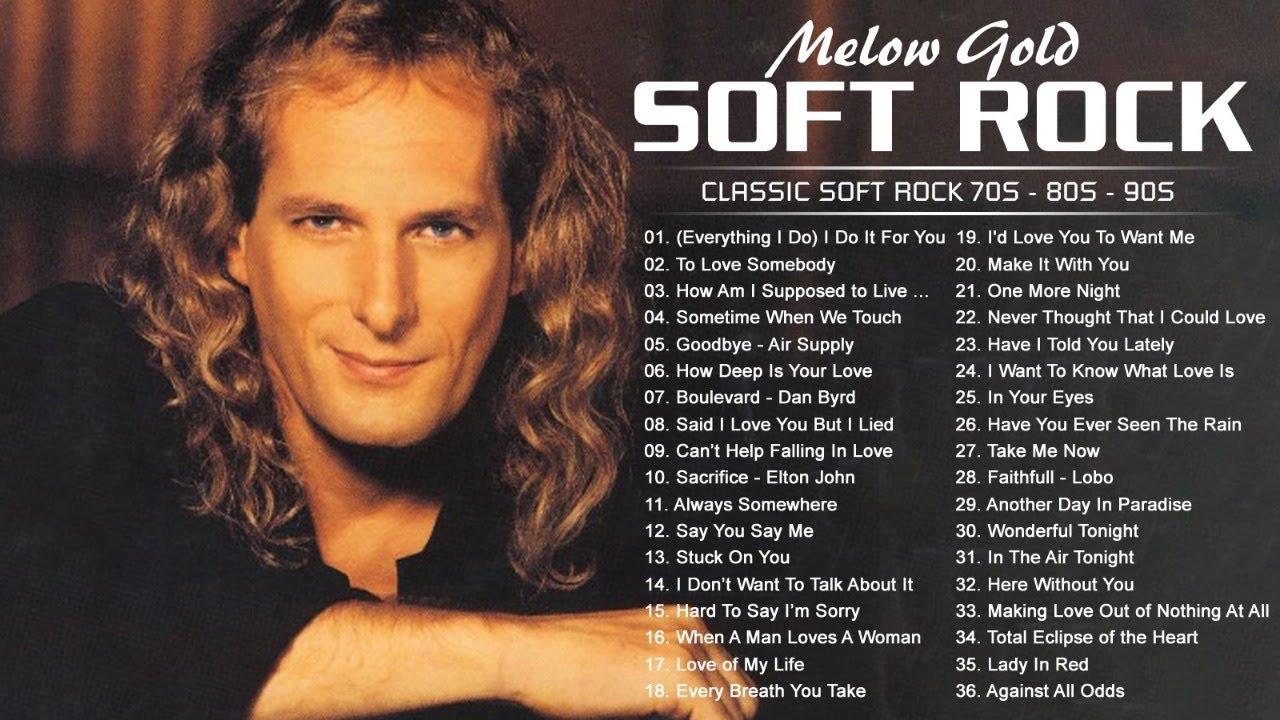 Michael Bolton, Lobo, Chicago, Rod Stewart, Eric Clapton, David Gates -Soft Rock Love Songs All