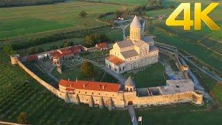 Alaverdy Monastery / ალავერდის მონასტერი / Монастырь Алаверди - 4K aerial video  DJI Inspire 1