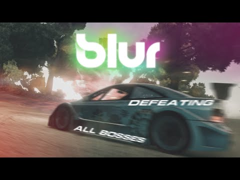 Blur (2010) - Defeating All Bosses