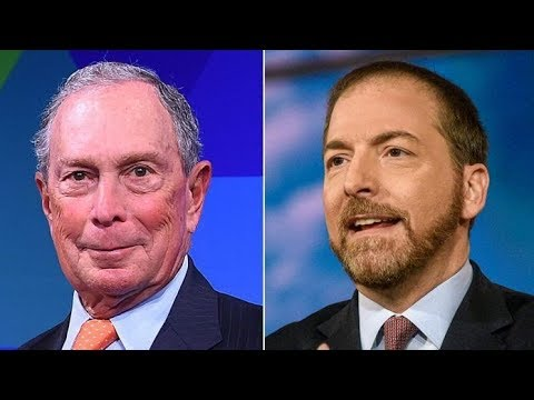 Chuck Todd: Bloomberg Is A Very Serious Contender For President