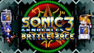 Sonic 3 & Knuckles - Battle Race - Mini Games