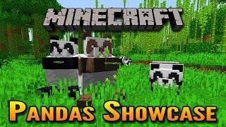 Minecraft 1.14 Village and Pillage Update   Panda Bears Showcase