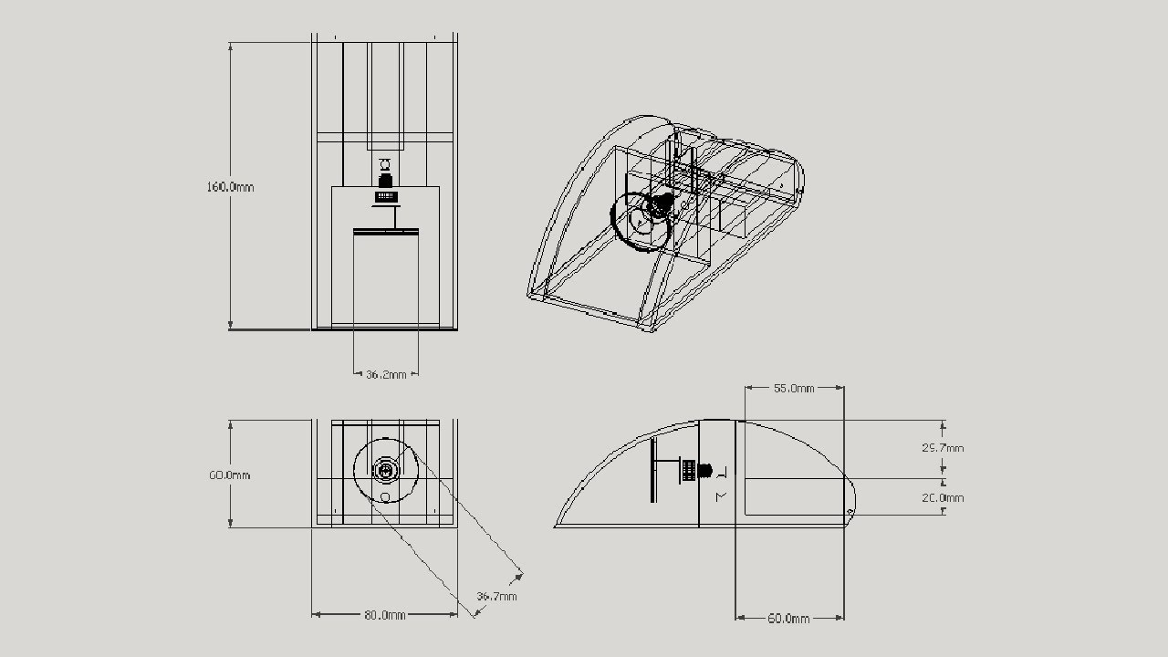 How To Make An Orthographic Drawing In Sketchup For Free