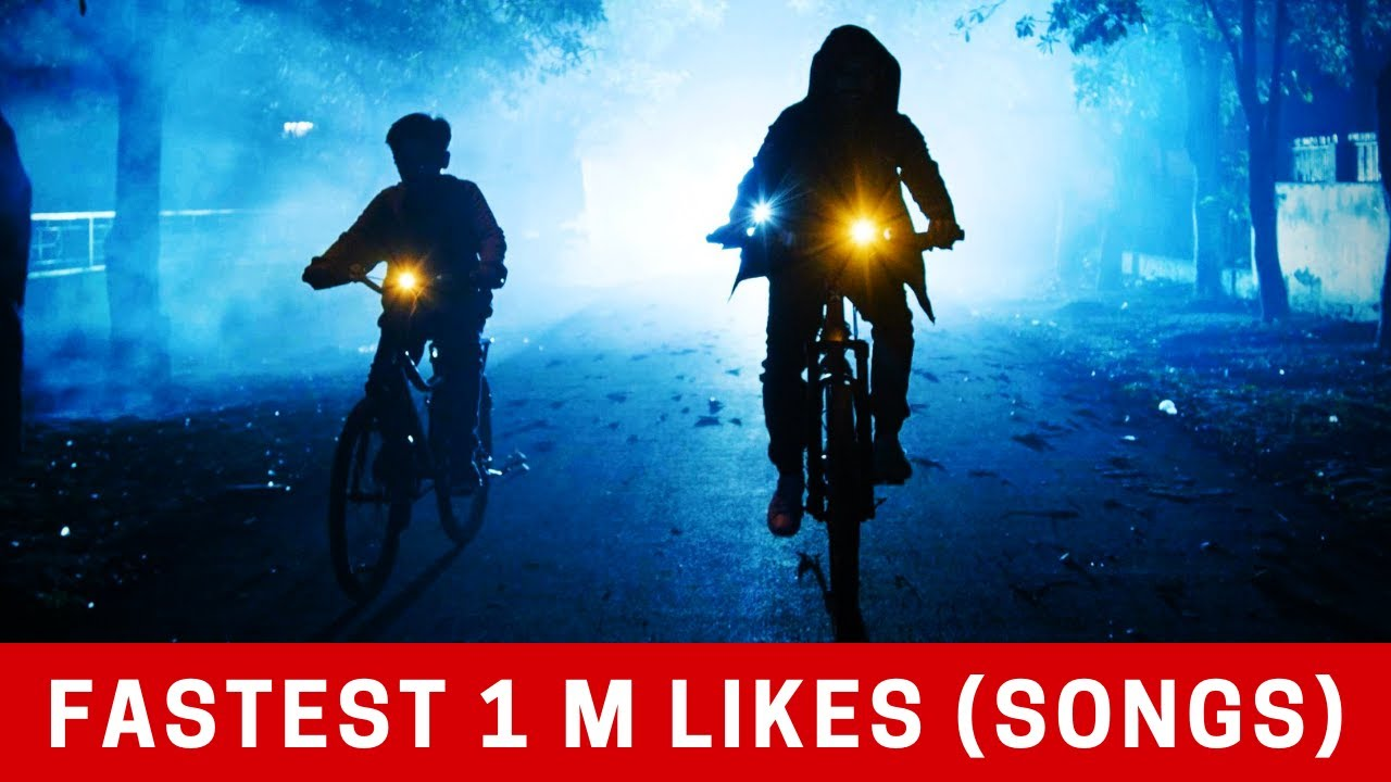 Fastest Indian Songs to Reach 1 Million Likes on Youtube of All Time