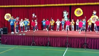 20161214 聖心小學 S1英文歌曲比賽