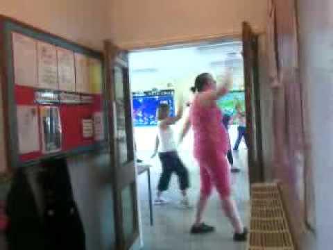 funny zumba dancer