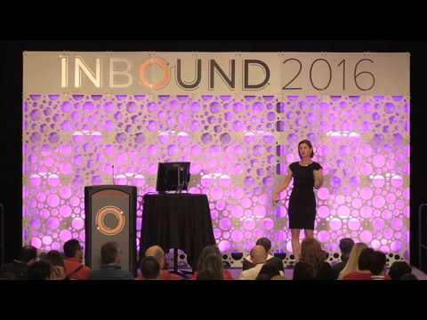 "INBOUND 2016: Jill Rowley - ""One Team, One Goal"""