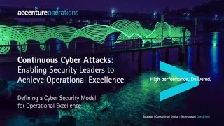 Defining a Cyber Security Model for Operational Excellence