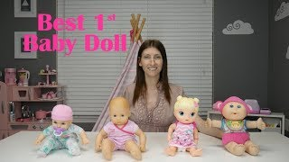 What is the Best FIRST baby doll? Baby Alive Bitty Baby Honestly Cute Cabbage Patch Kids