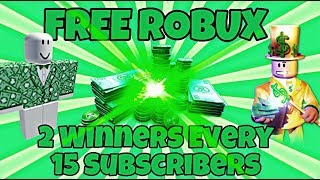 FREE ROBUX GIVEAWAY on ROBLOX! Must be in Roblox Group to RECEIVE!
