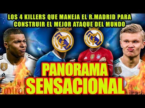 PANORAMA SENSACIONAL | Los 4 killers que maneja el R.Madrid para construir el mejor ataque del mundo