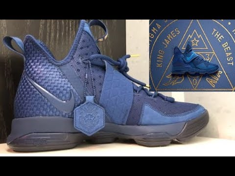 7de153bb2c1 Nike Lebron 14 AGIMAT Philippines Sneaker Review + PO Box Star Wars Rare  Unboxing With Dj Delz