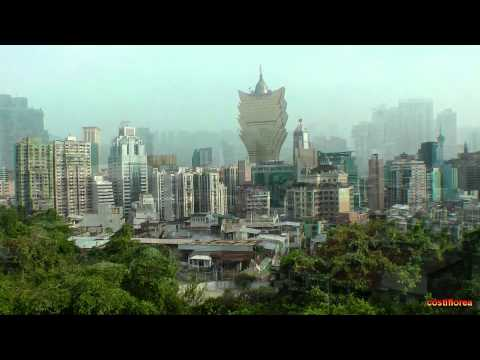 Macau Museum,St.Paul's Cathedral,Lisboa Casino - Trip to China part 67 - Full HD travel video
