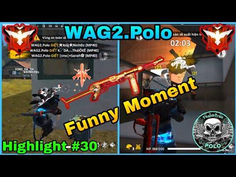 [ Highlight Free Fire #30 ] Những Pha Xử Lí MP40 Đỉnh Cao - Funny Moment 😎 | WAG2.Polo