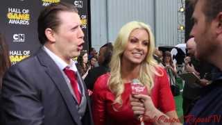 Mike The Miz at the 4th Annual #HallOfGame Awards Red Carpet @MikeTheMiz #WWE