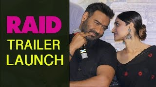 RAID Ajay Devgan New Movie Trailer 2018 Launch | Ileana D'Cruz | Rajkumar Gupta