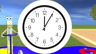 Telling Time For Children   Learning The Clock