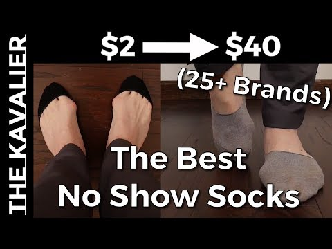 The Best No Show Socks For Men (2020) | Complete No Show Sock Guide