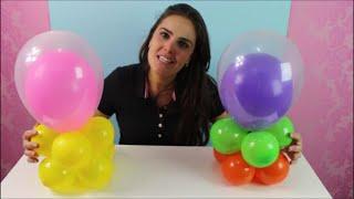Centro de Mesa de Balões para Festa Infantil | Fácil