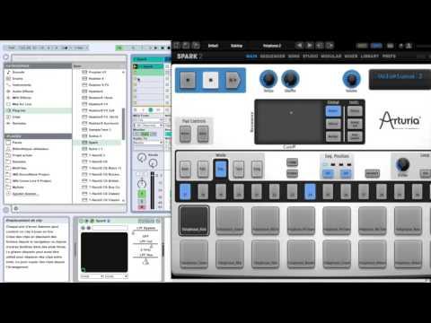 Spark2 : enregistrement Midi et Automation dans Live 9