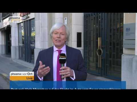 Brexit-Verhandlungen: Jan-Christoph Nüse mit aktuellen Informationen aus Brüssel am 19.06.2017