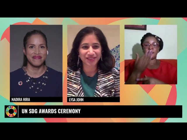 UN SDG Action Awards Ceremony 2021 (French)
