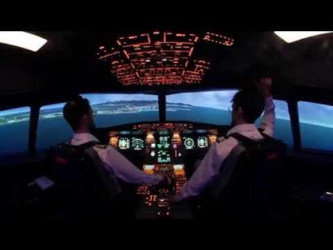 A320 Home cockpit P3DV4 LFMN 04L by Ridha Said