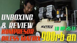 MATRIX OILESS - OIL FREE COMPRESSOR 1 HP OFS750-25