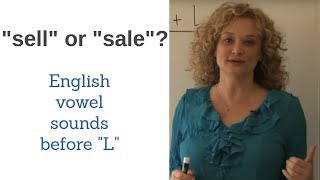 Pronunciation of English L sound after long vowels.  Accent reduction  | Accurate English
