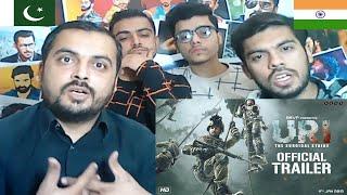 Pakistani Reaction On URI Official Trailer | Vicky Kaushal, Yami Gautam, Paresh Rawal | Aditya Dhar