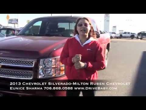 2013 Chevrolet Silverado With Eunice Sharma At Milton Ruben Chevrolet In  Augusta,Ga Walk Around