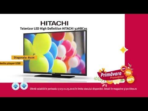 Reclamă ALTEX TV Hitachi - martie 2016