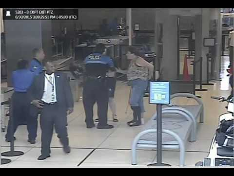 Video: confrontation between security agents and St. Jude patient Hannah Cohen