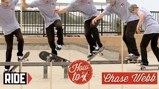 How-To Skateboarding: Bigspin F/S Board Fakie with Chase Webb