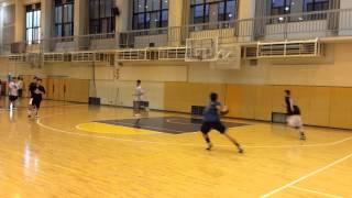 月刊バスケットボール・ムック「練習レシピ」に掲載されている洛南高の...