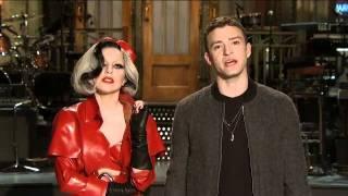 Snl Promo Justin Timberlake And Lady Gaga