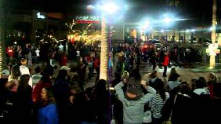 Flashmob in Riverpark Fresno (Christmas tree)