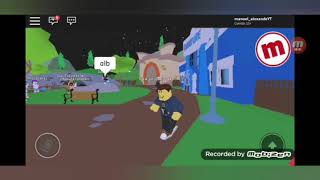 Badly dancing katie Angel roblox/Manuel Alexander's head