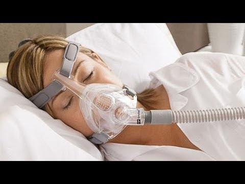 Fisher & Paykel CPAP Mask Review Simplus Full Face And Good For Anxiety Dementia & Alzheimer's Pt's