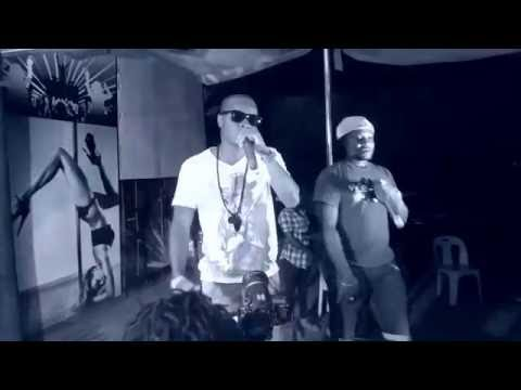 Crack & Gee Fly - Live show [ revolution hip hop fam ( Tchilling club ) ]