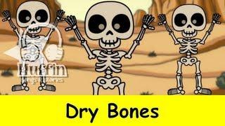 Dry Bones (Dem Bones) - Bone Dance / Skeleton Dance | Family Sing Along - Muffin Songs