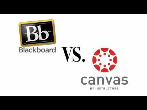Five Things: Blackboard Vs. Canvas